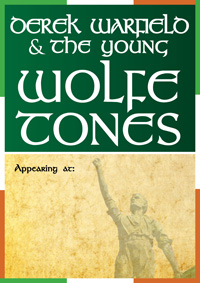 Derek Warfield & The Young Wolfe Tones Poster